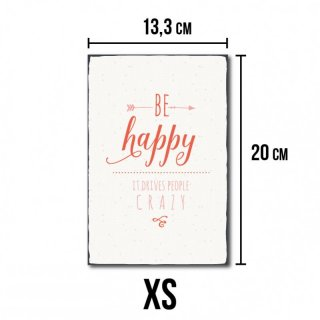 Be Happy - No. R1 XS
