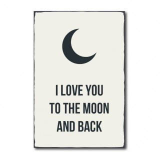 I love you to the moon and back - No. R1